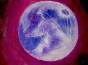 SOUL EXPRESSION Full Moon Inspiration Painting @ The Healing & Learning Center | Elmira | New York | United States