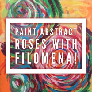 Create Abstract Roses @ The Healing & Learning Center | Elmira | New York | United States